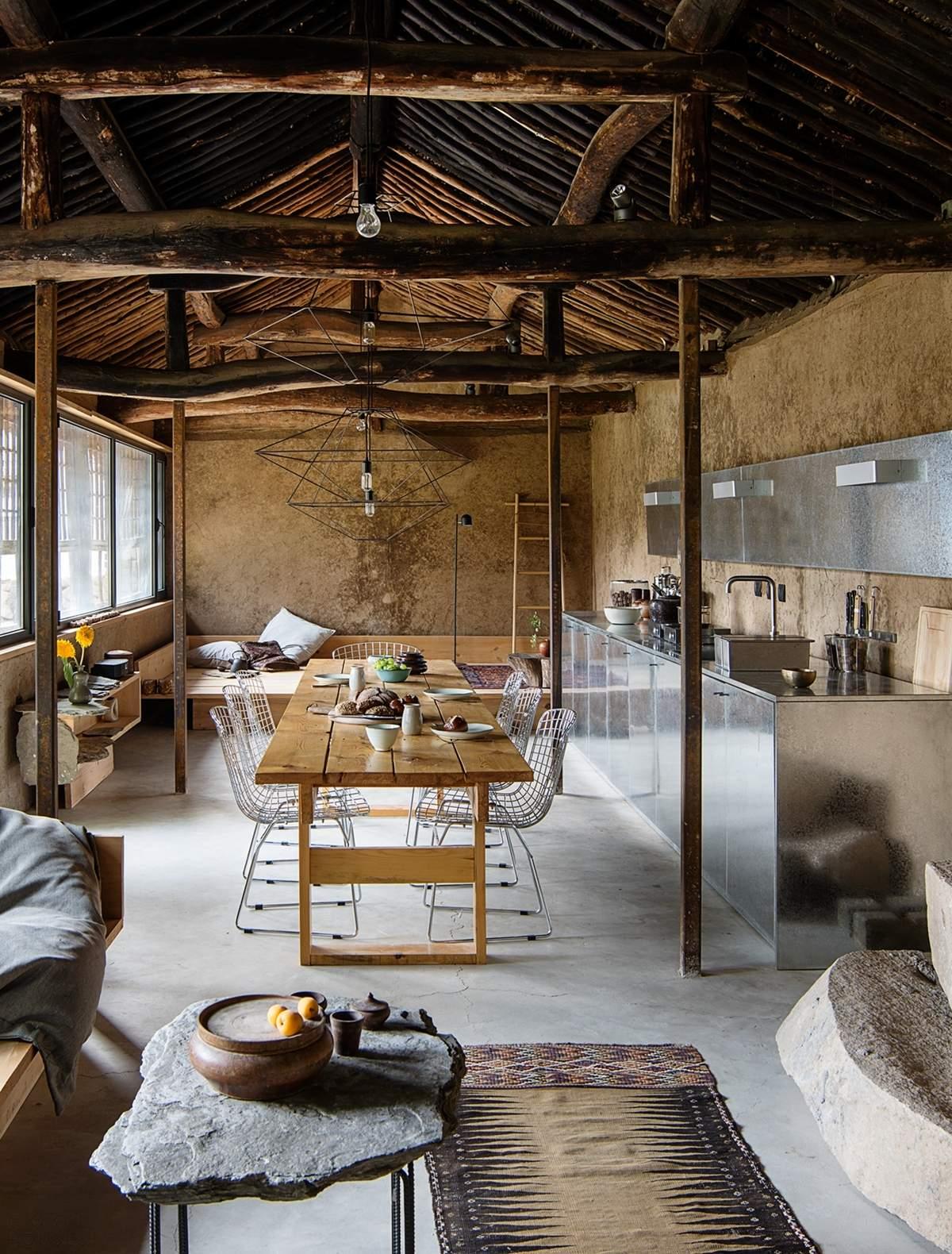 Сельский коттедж в стиле ваби-саби, Китай