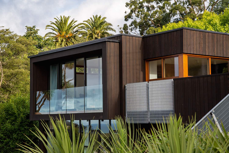 Современная уютная резиденция в Новой Зеландии
