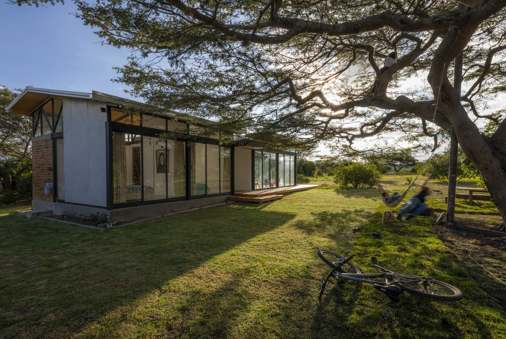 Загородный дом с индивидуальным характером, Эквадор