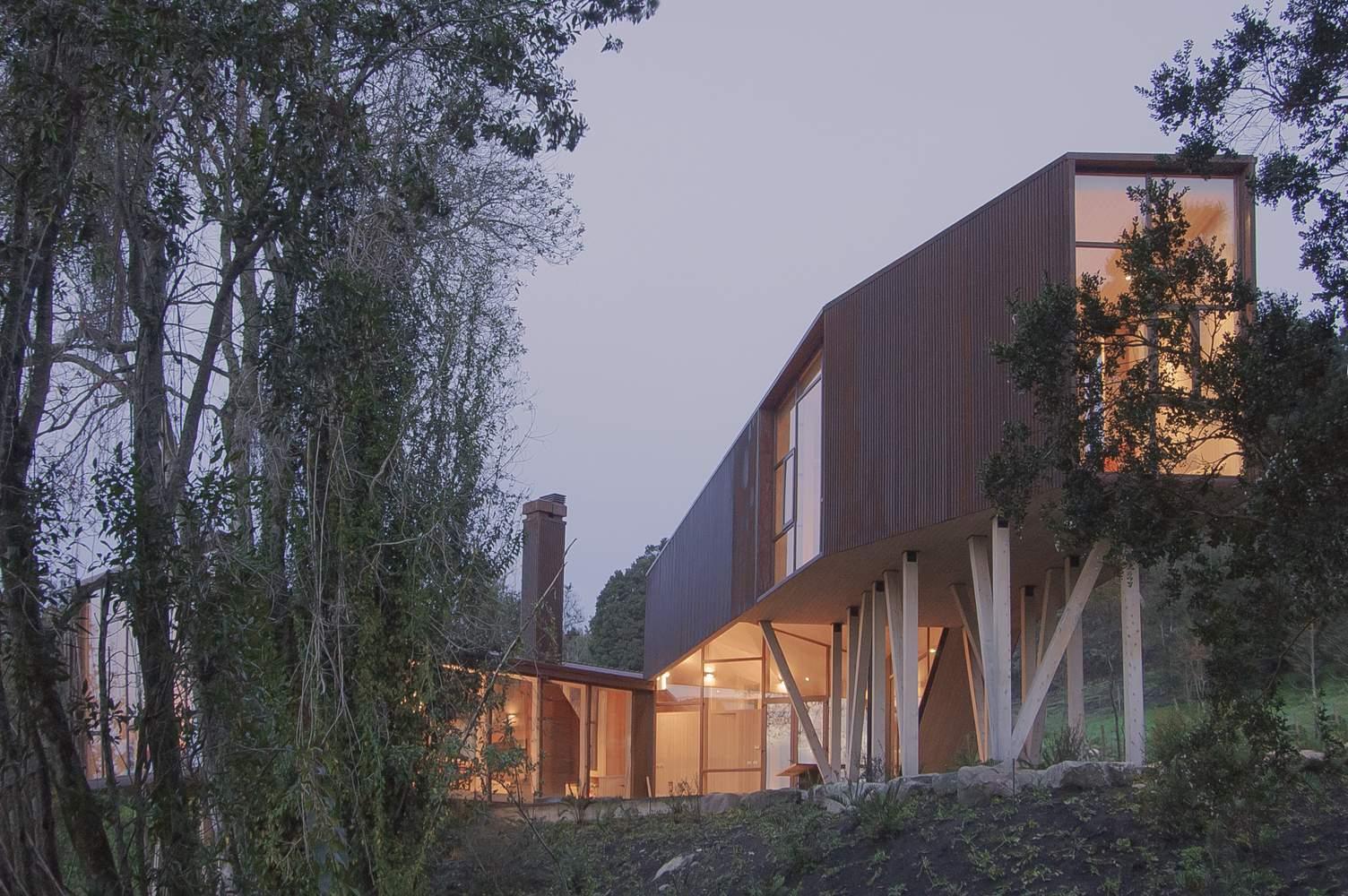 Дом, приспособленный к экстремальным климатическим условиям, Чили