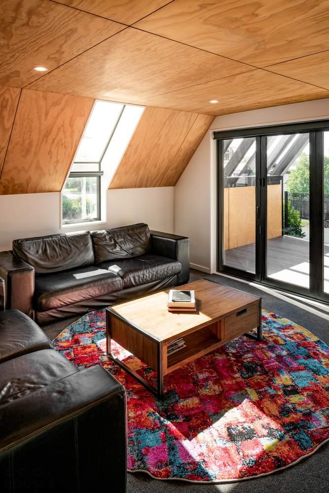 Дом с тройным фронтоном, Новая Зеландия
