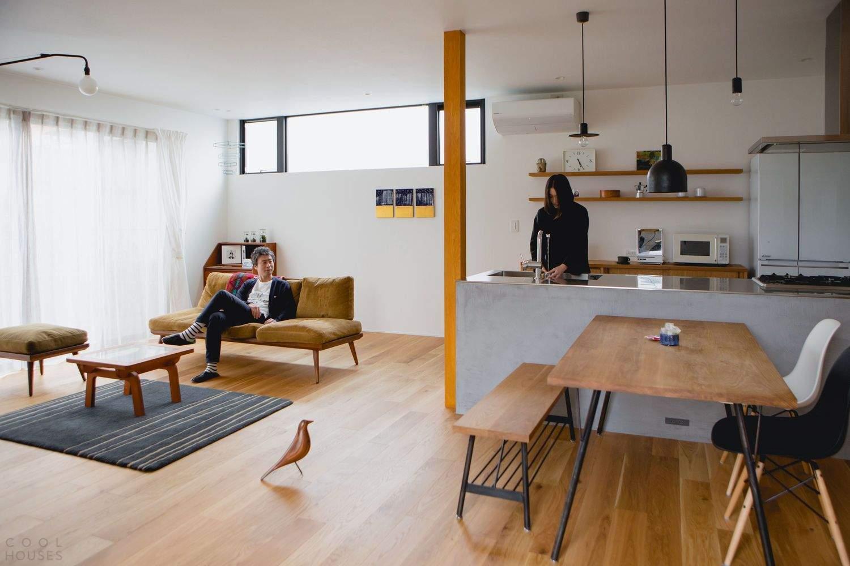 Комфортный японский дом в минималистичном стиле