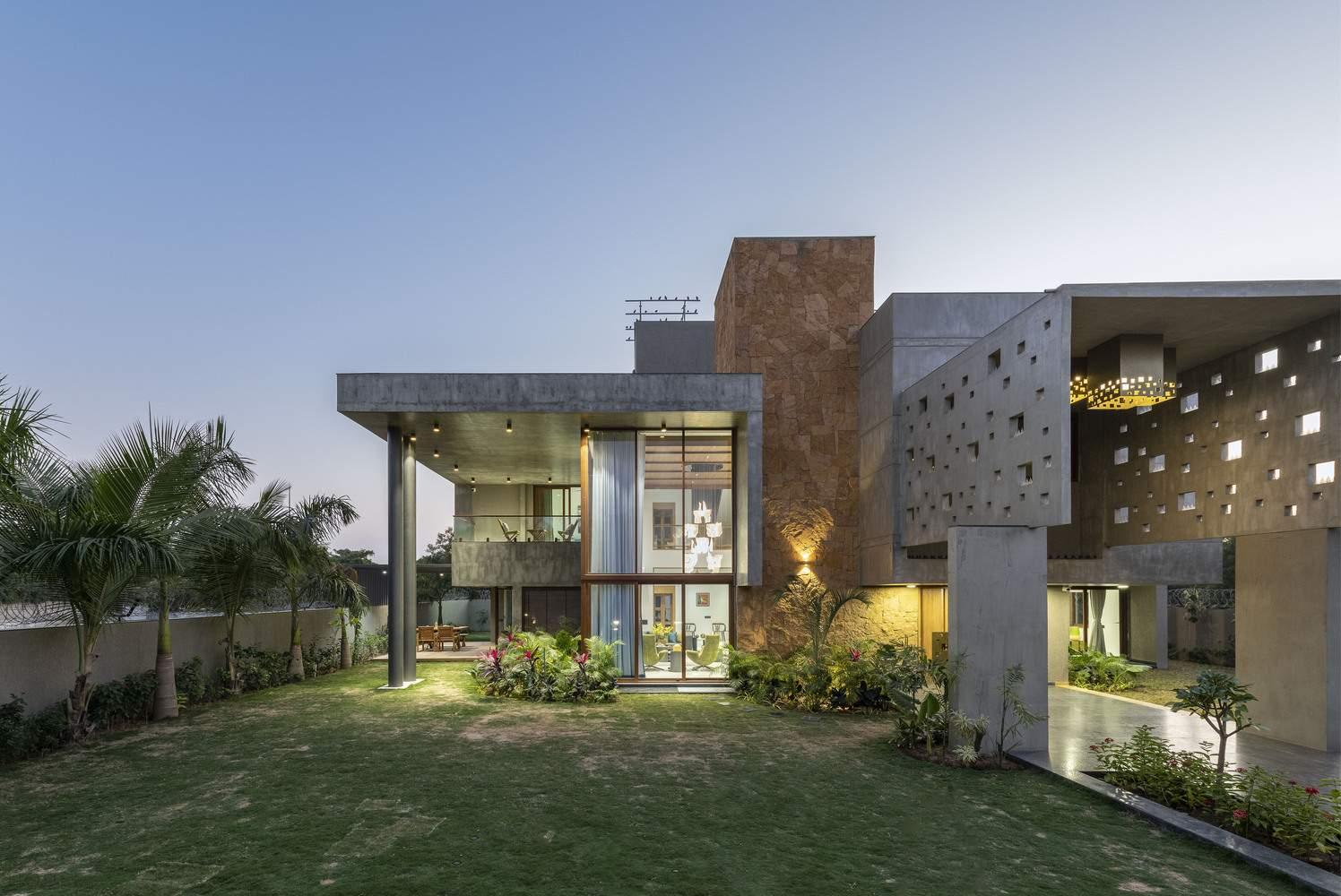 Пиксельный дом для большой семьи, Индия