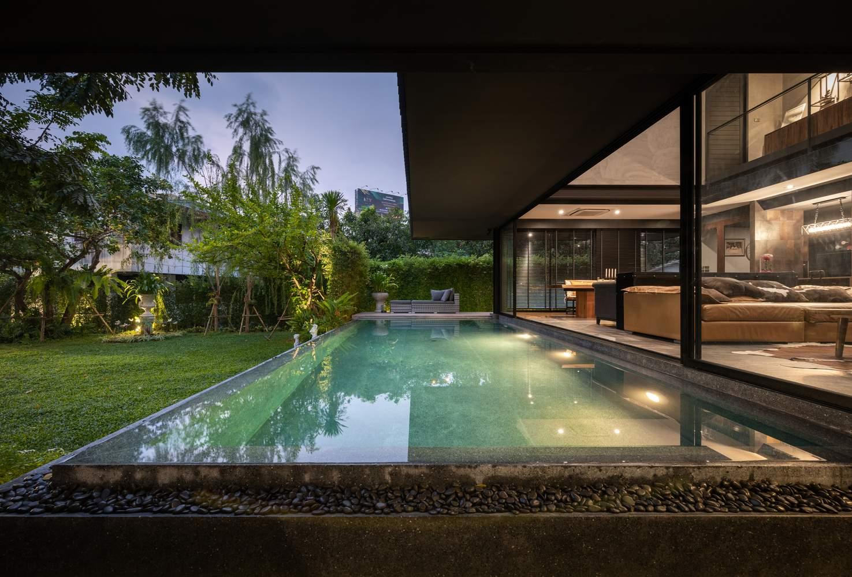 Резиденция, спроектированная по правилам фен-шуй, Таиланд