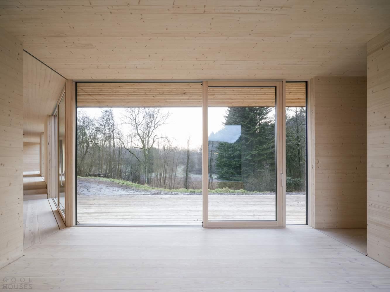 Сборная деревянная вилла в стальной оболочке, Дания