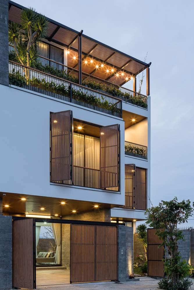 Семейная вилла с функциональным разделением этажей, Вьетнам