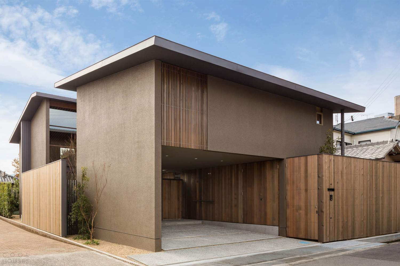 Семейный дом с уютным внутренним садом, Япония