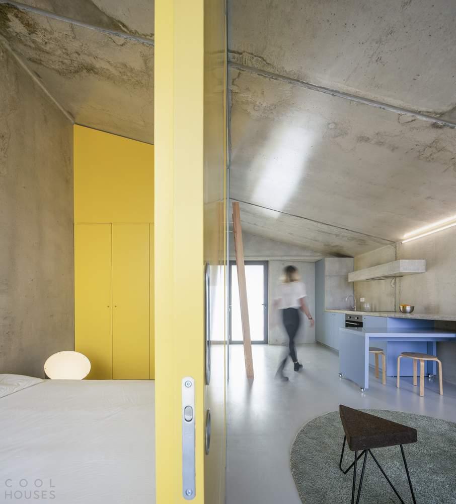Современный модульный дом с использованием системы Gomos, Португалия