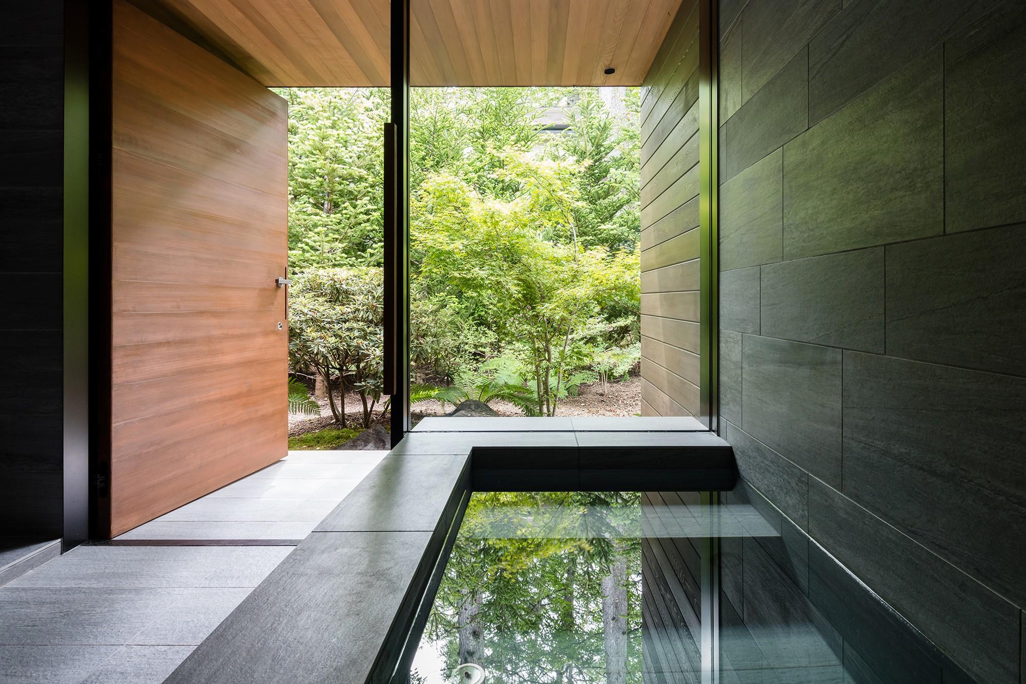 Эффектная вилла в стиле японского минимализма