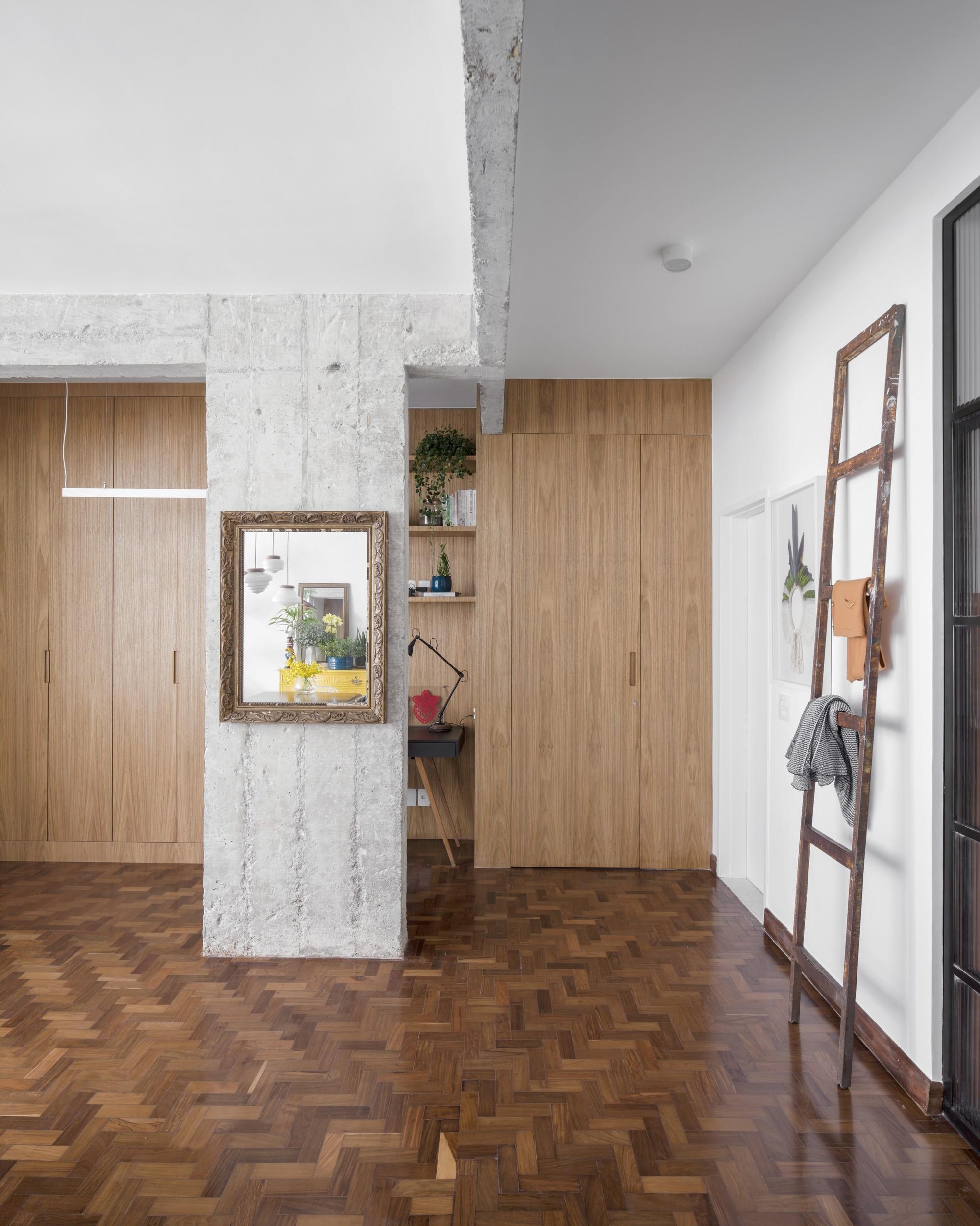 Реконструкция апартаментов в историческом центре Сан-Паулу