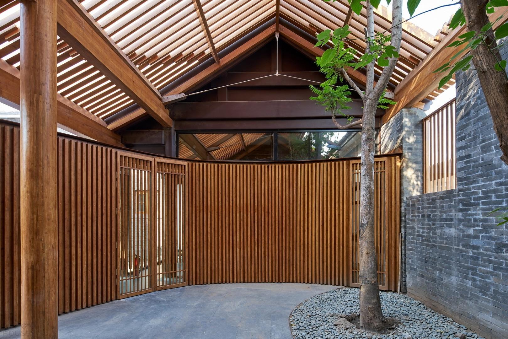 Дом с «Тыквенным двориком»