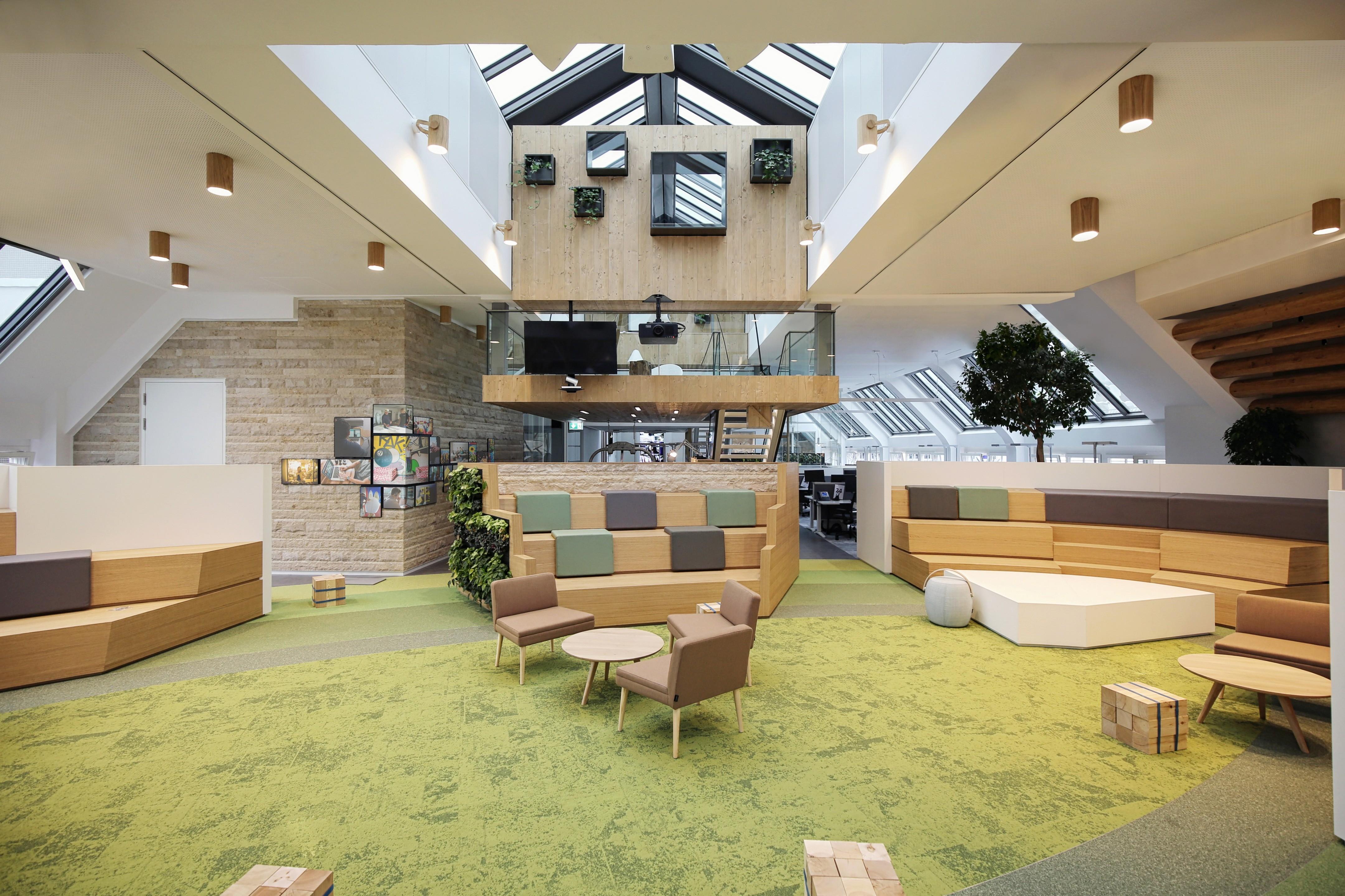 Новый офис LinkedIn в Мюнхене