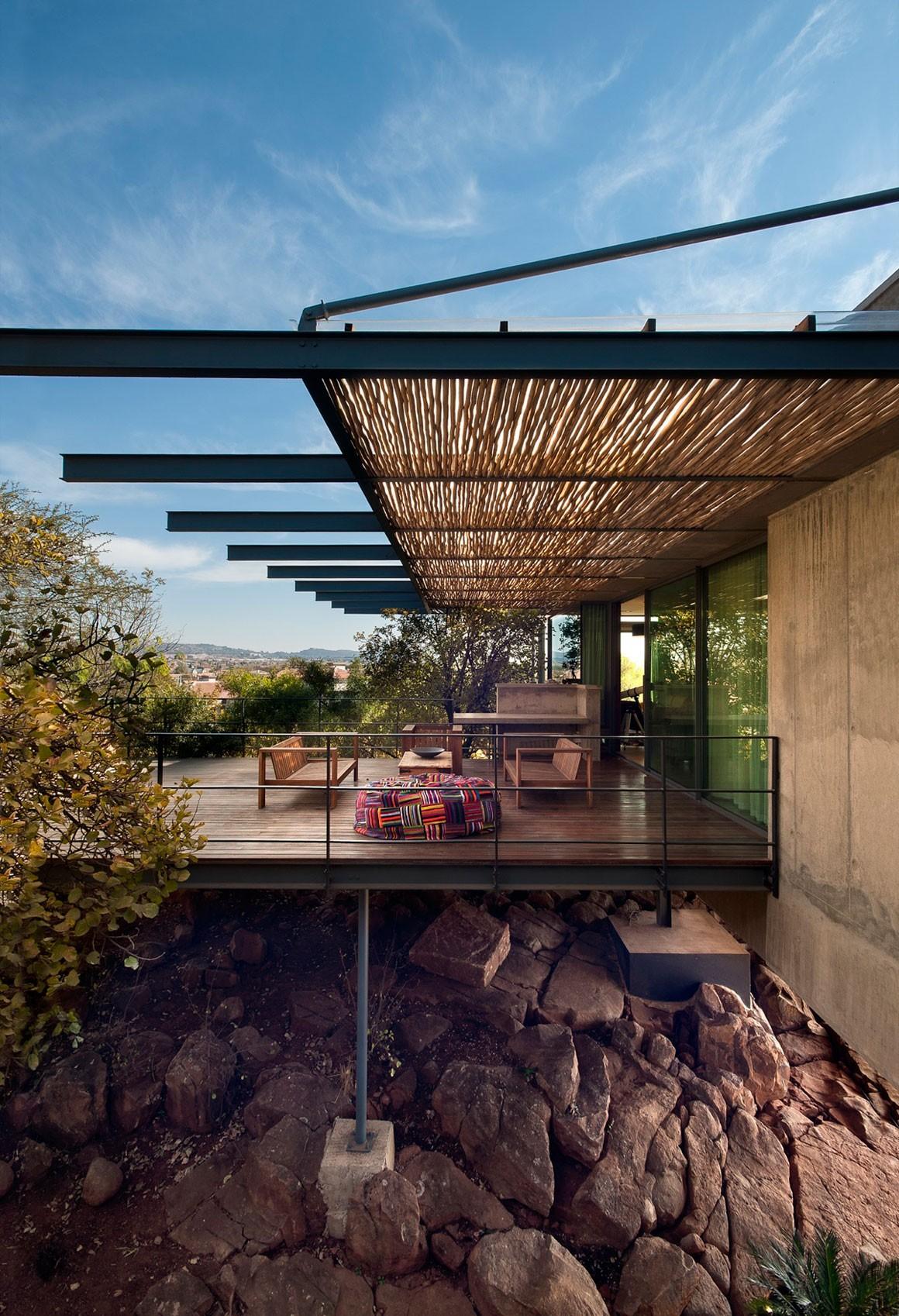 Современная резиденция в стиле модерн в Претории, ЮАР