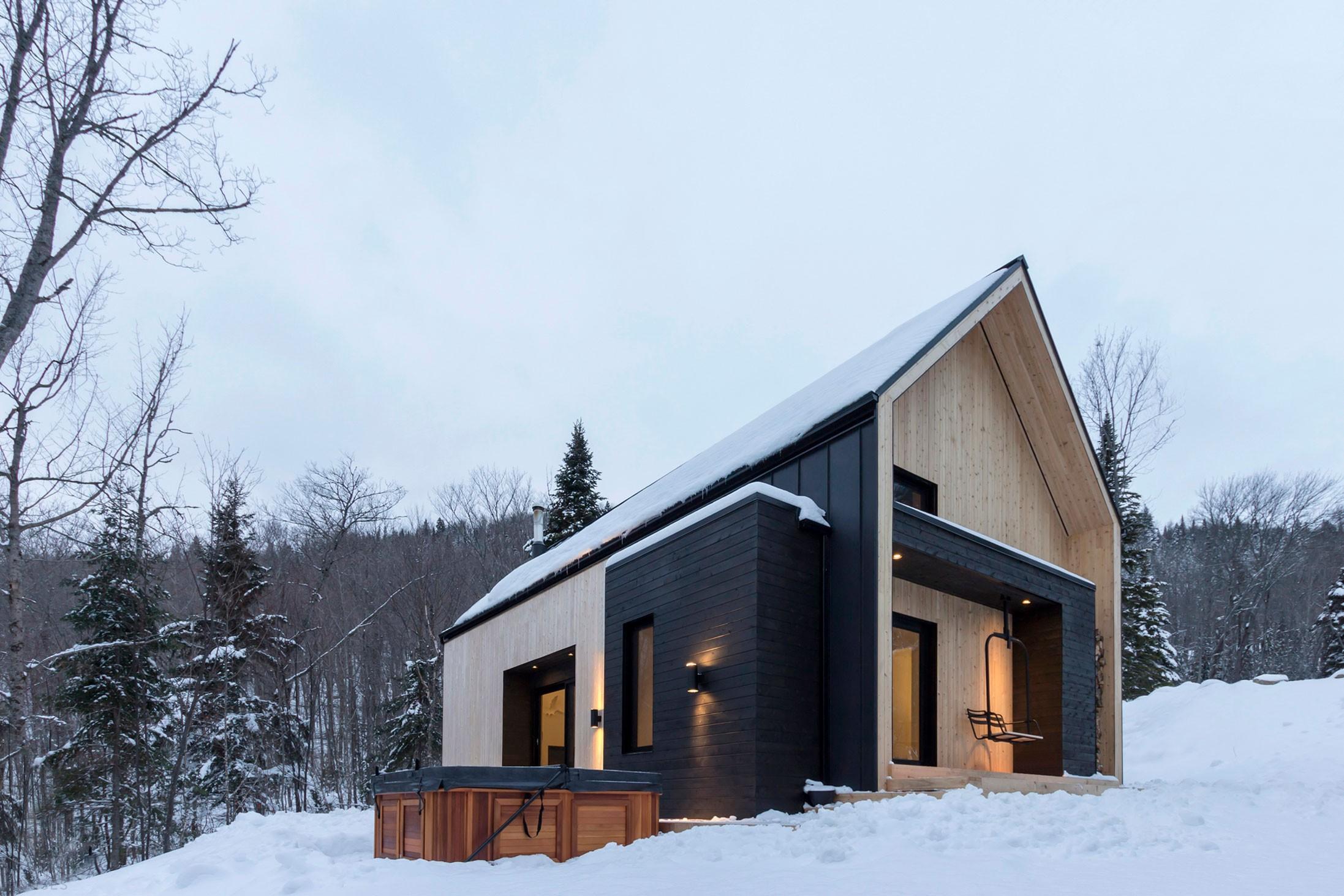 Вилла в скандинавском стиле, Канада