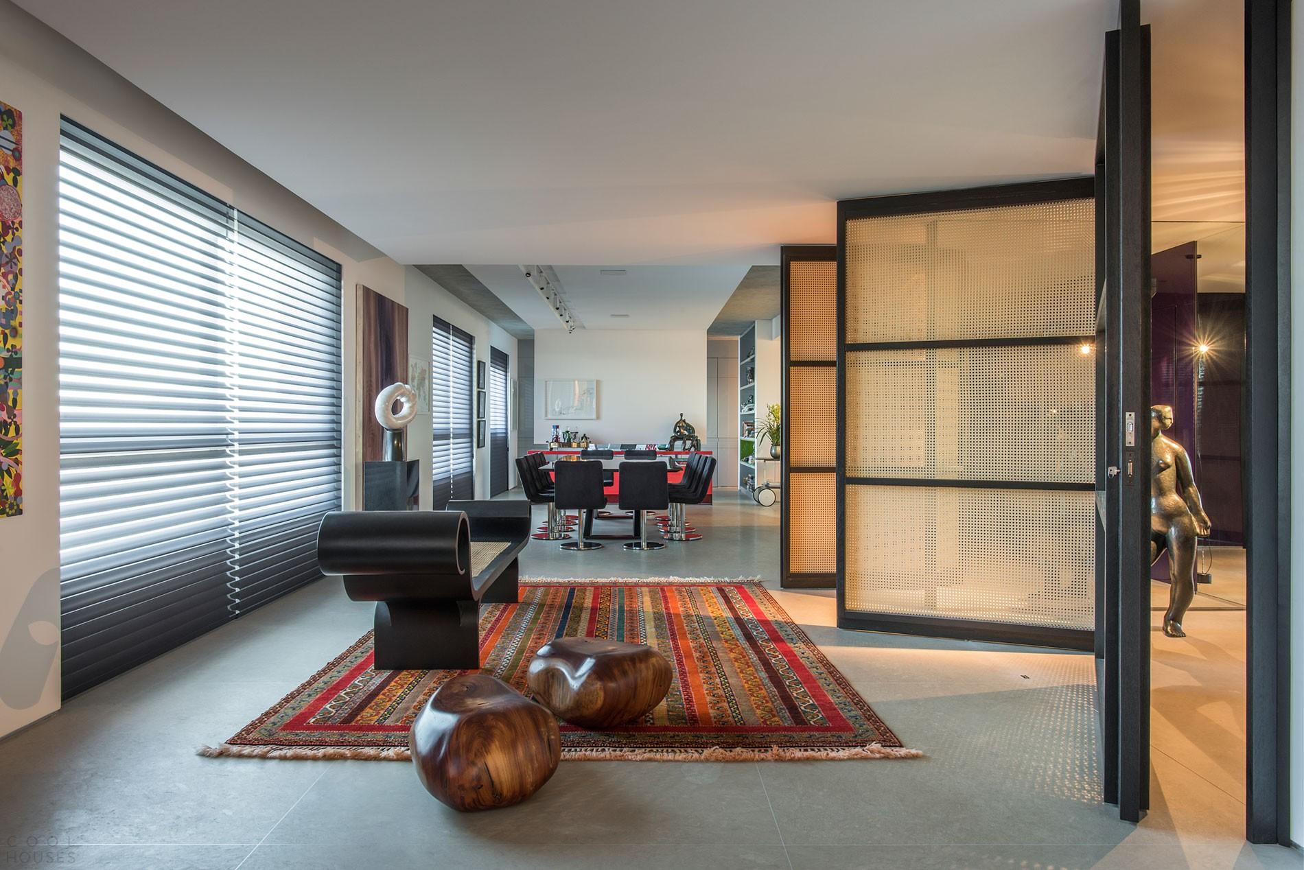 Яркий интерьер квартиры в Белу-Оризонти, Бразилия