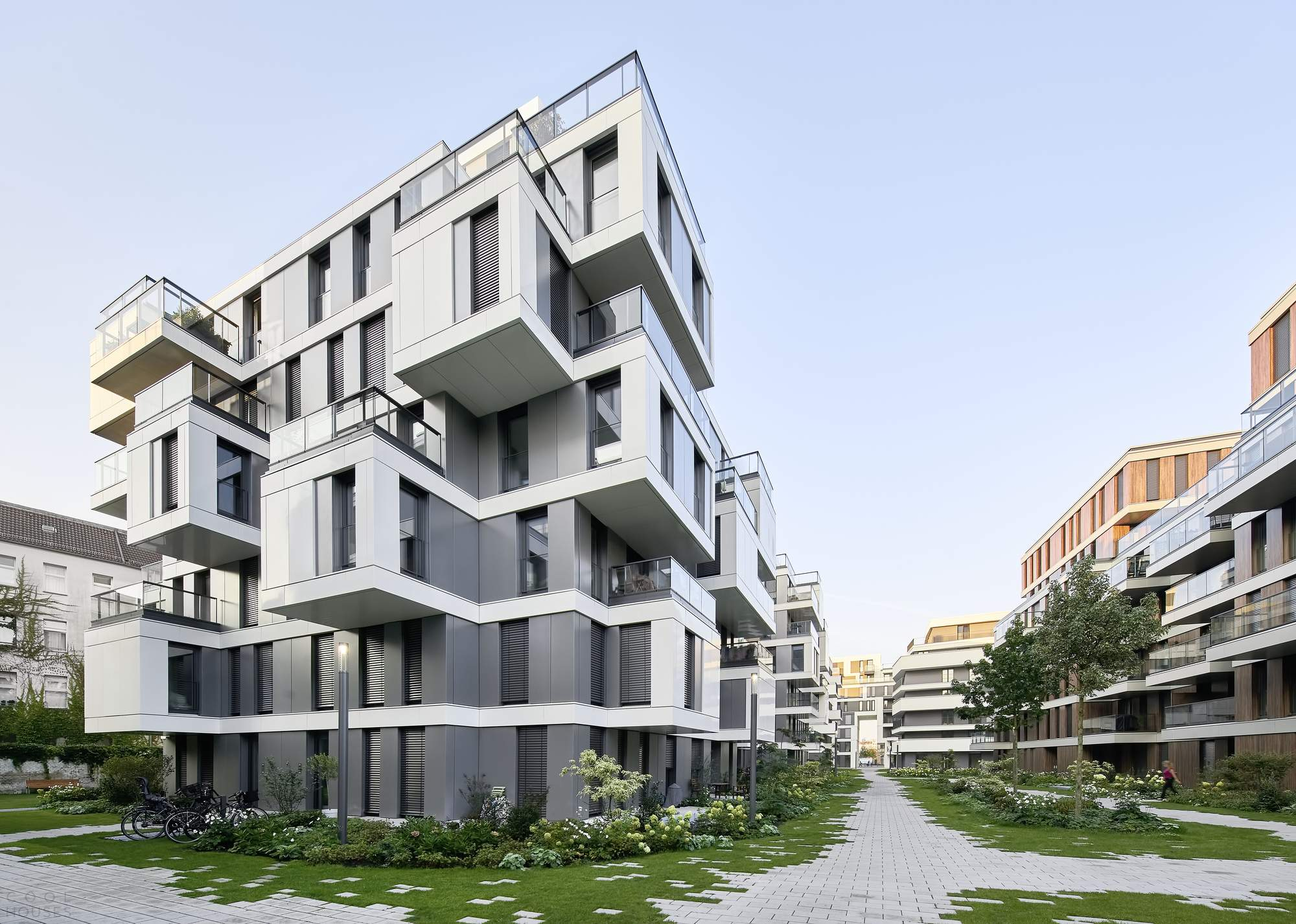 Элитный жилой комплекс «Сад» в Берлине, Германия
