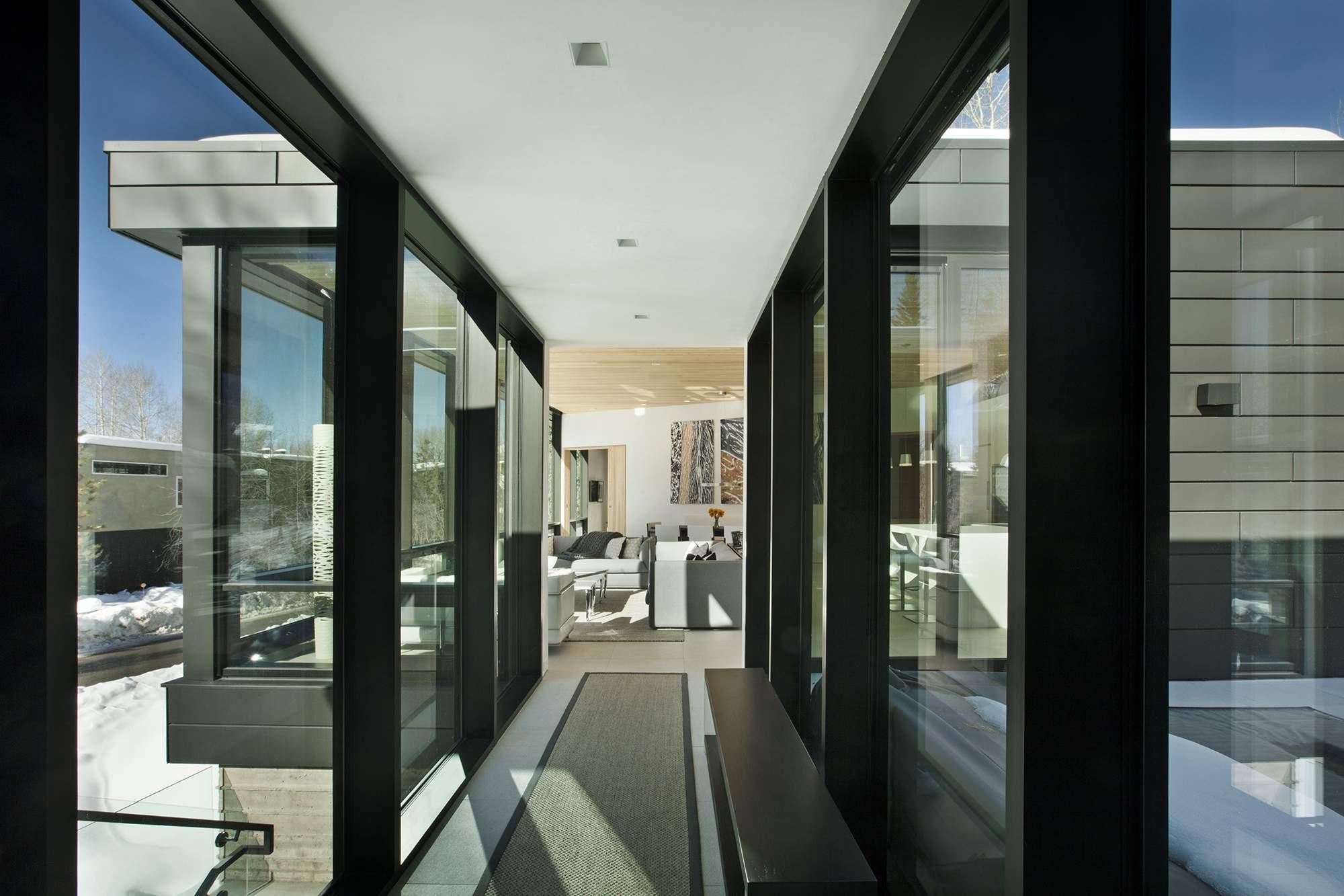 Отель Zale Residence в горнолыжном курорте Аспен, США