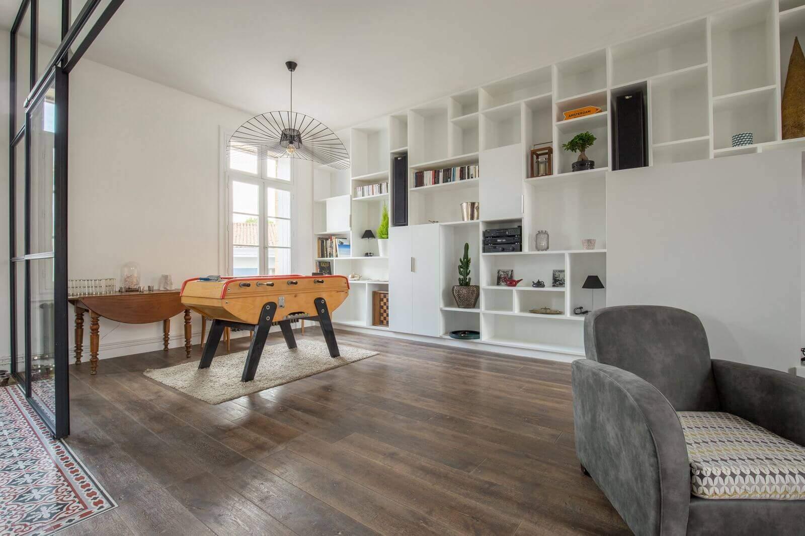 Современные апартаменты на месте старой квартиры в Монпелье, Франция