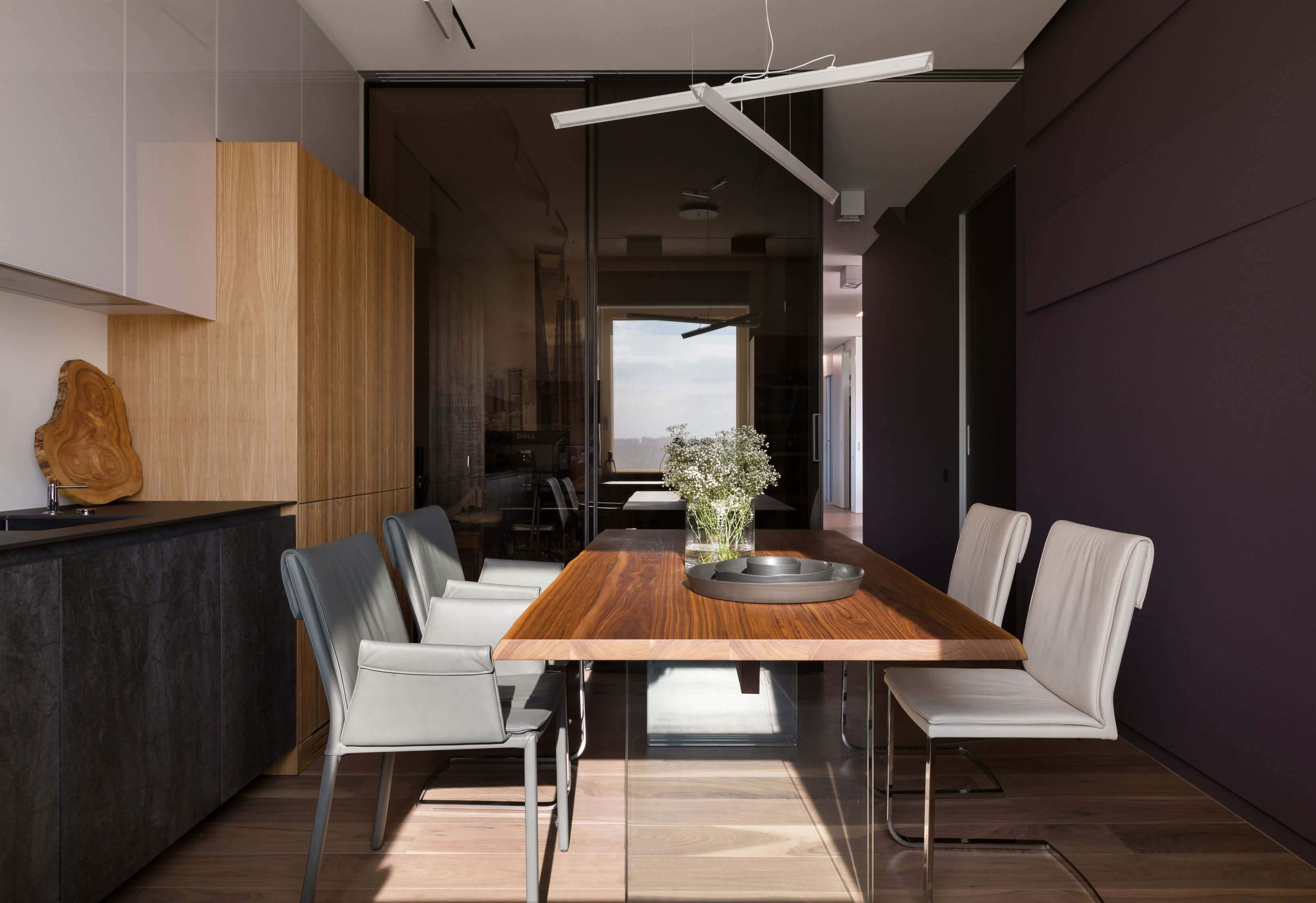 Современный дизайн квартиры-студии в Днепропетровске