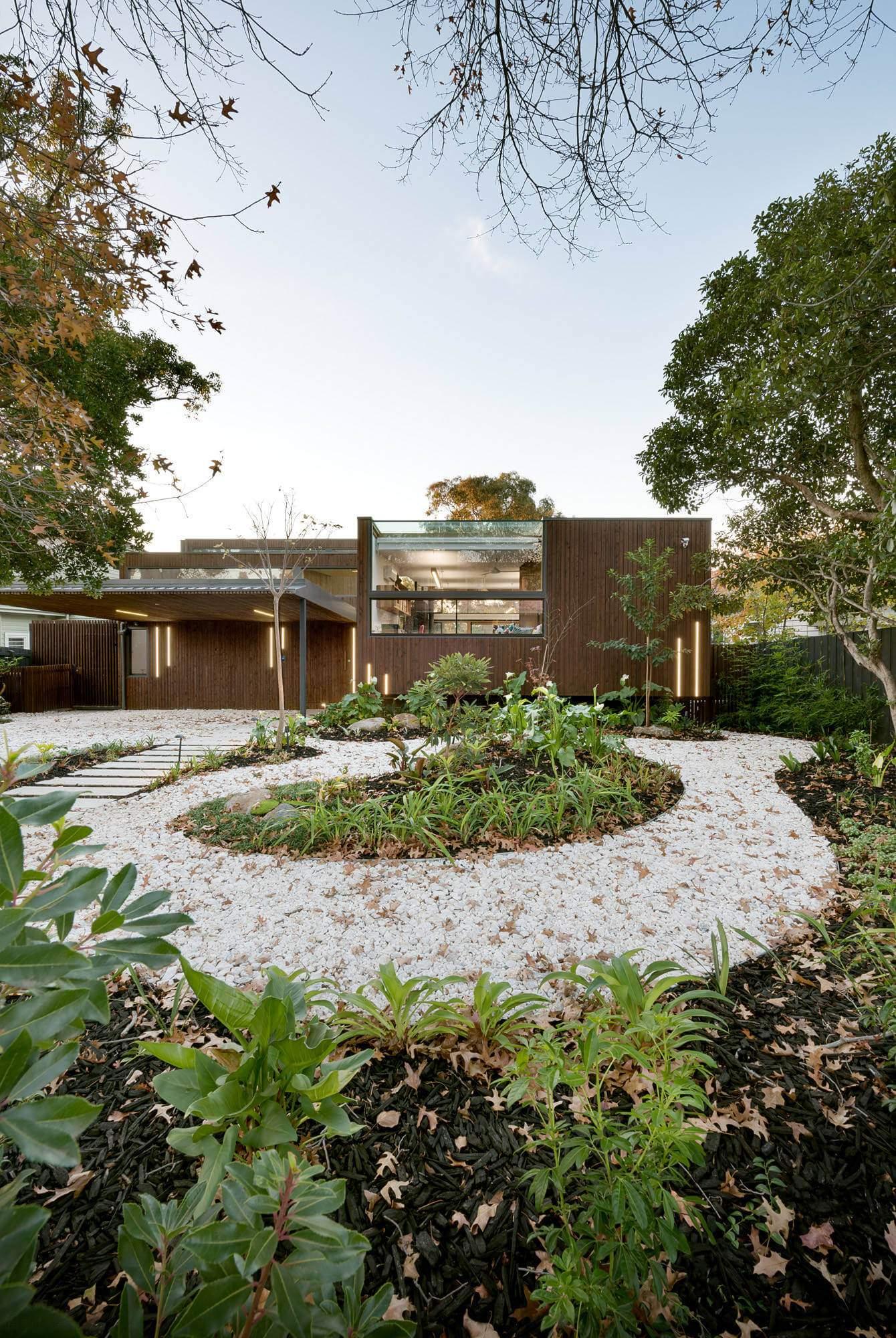 Современный экологичный дом в Австралии
