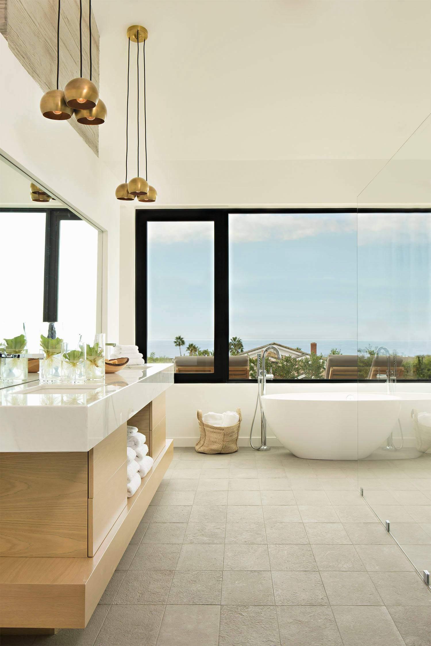Уютный частный дом с видом на Тихий океан в Калифорнии, США