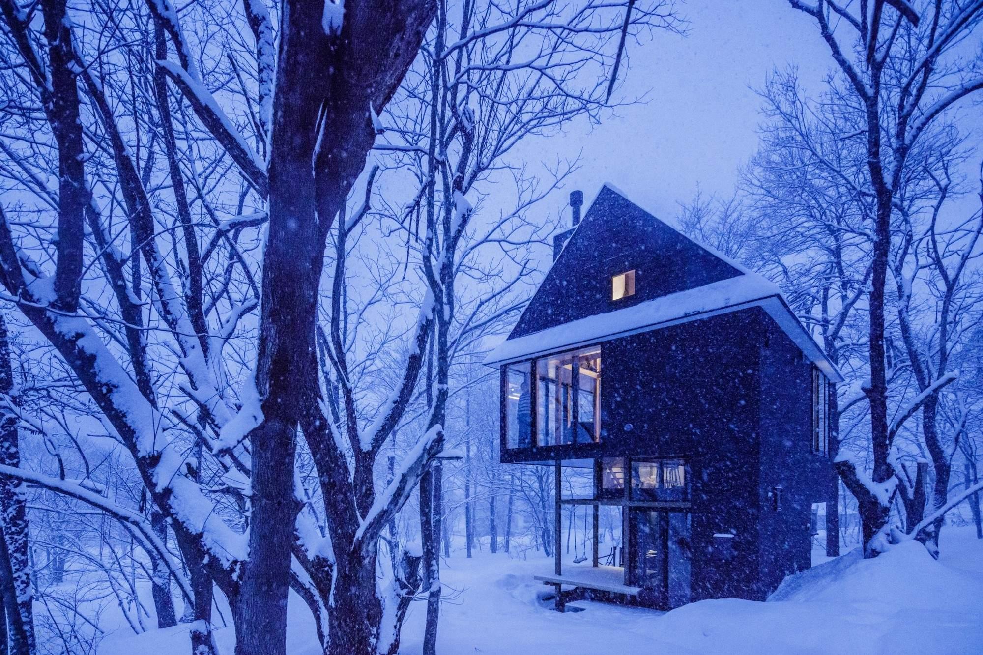 Дом с многоуровневой планировкой в Японии