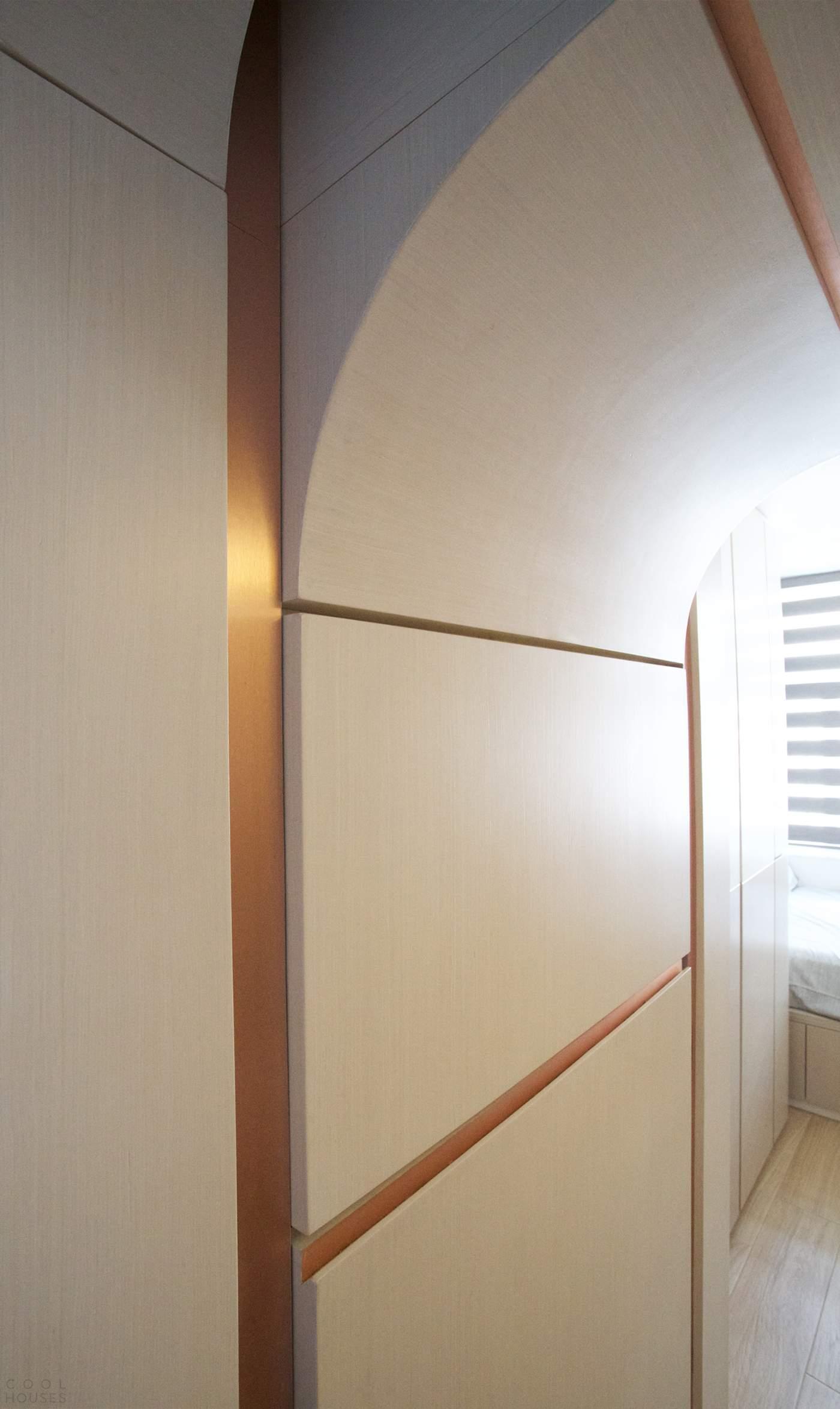 Квартира с поэтическим пространством в Гонконге