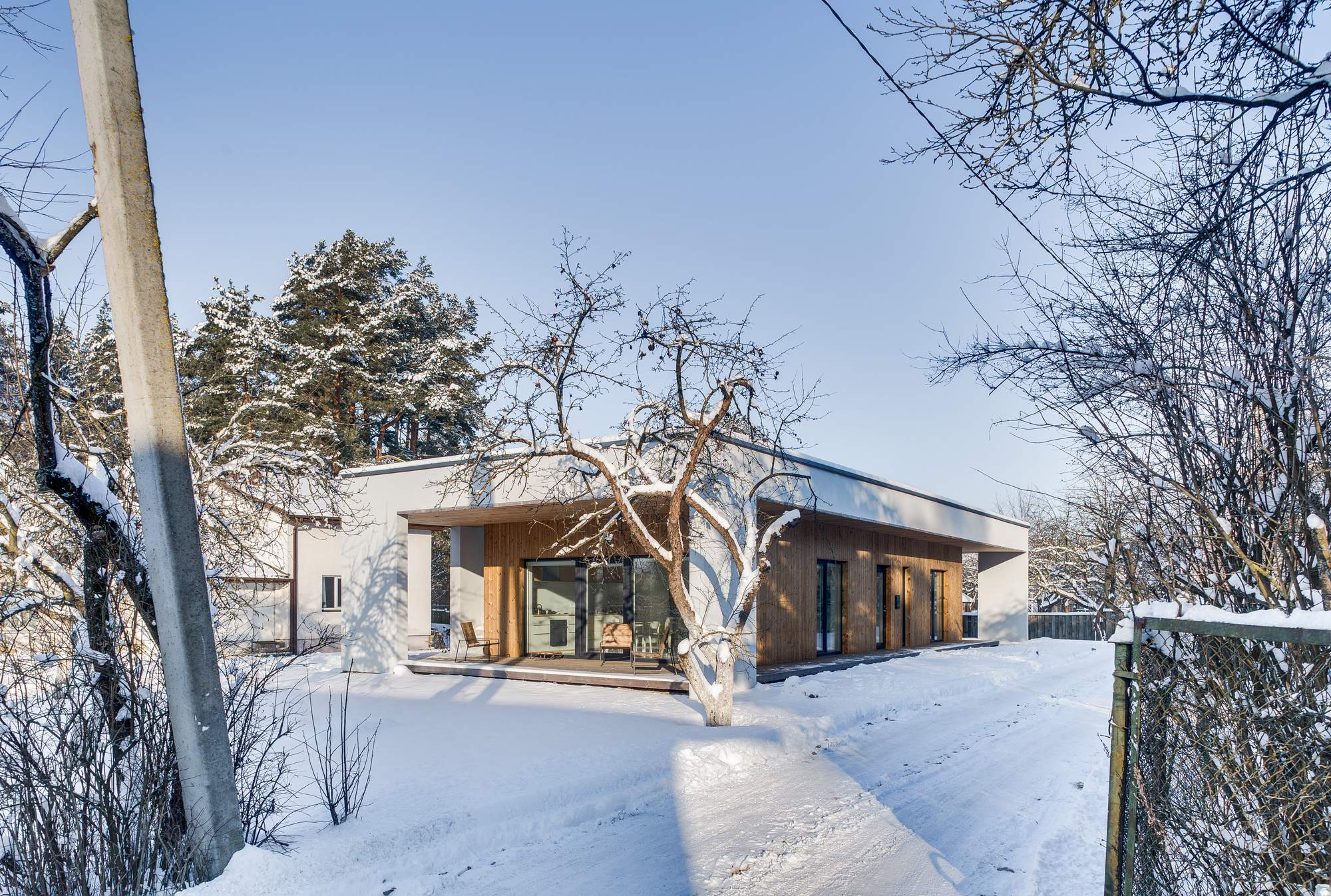 Минималистический дом в Вильнюсе, Литва