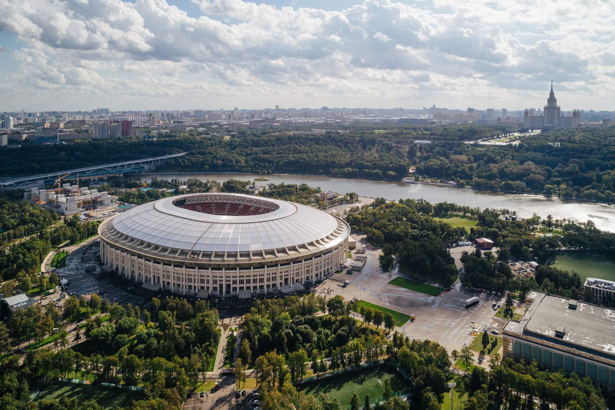 Стадионы чемпионата мира по футболу 2018 в России