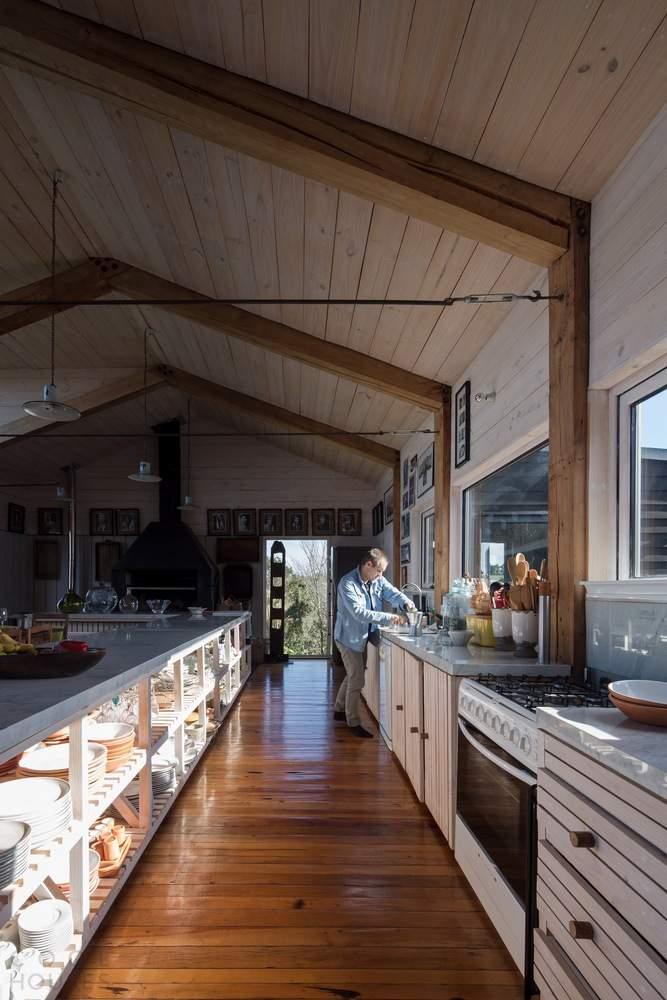 Частная резиденция в стиле амбара, Чили