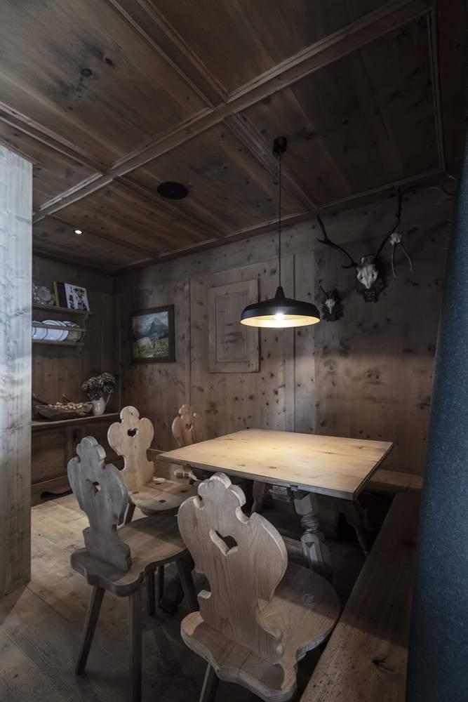 Гостевой домик для биатлонистов в Альпах, Италия