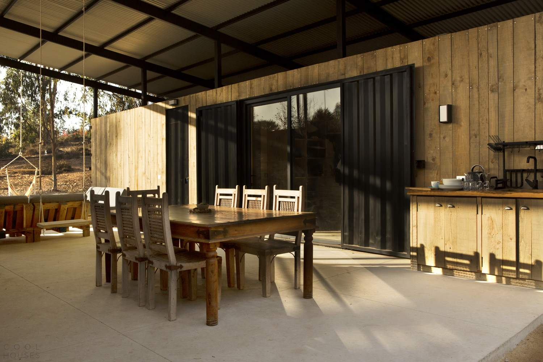 Контейнерный дом с многоцелевым пространством, Чили