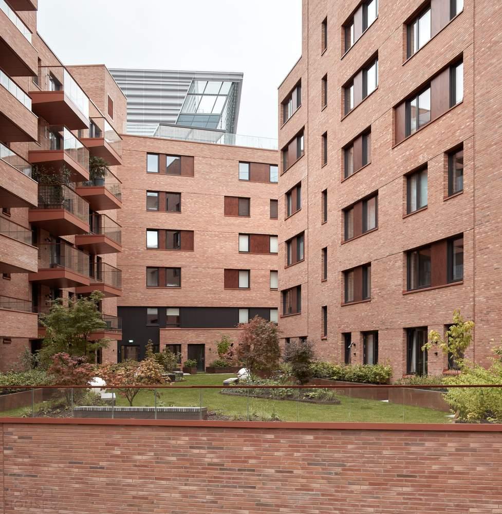 Современный жилой комплекс Munch Brygge в Осло, Норвегия