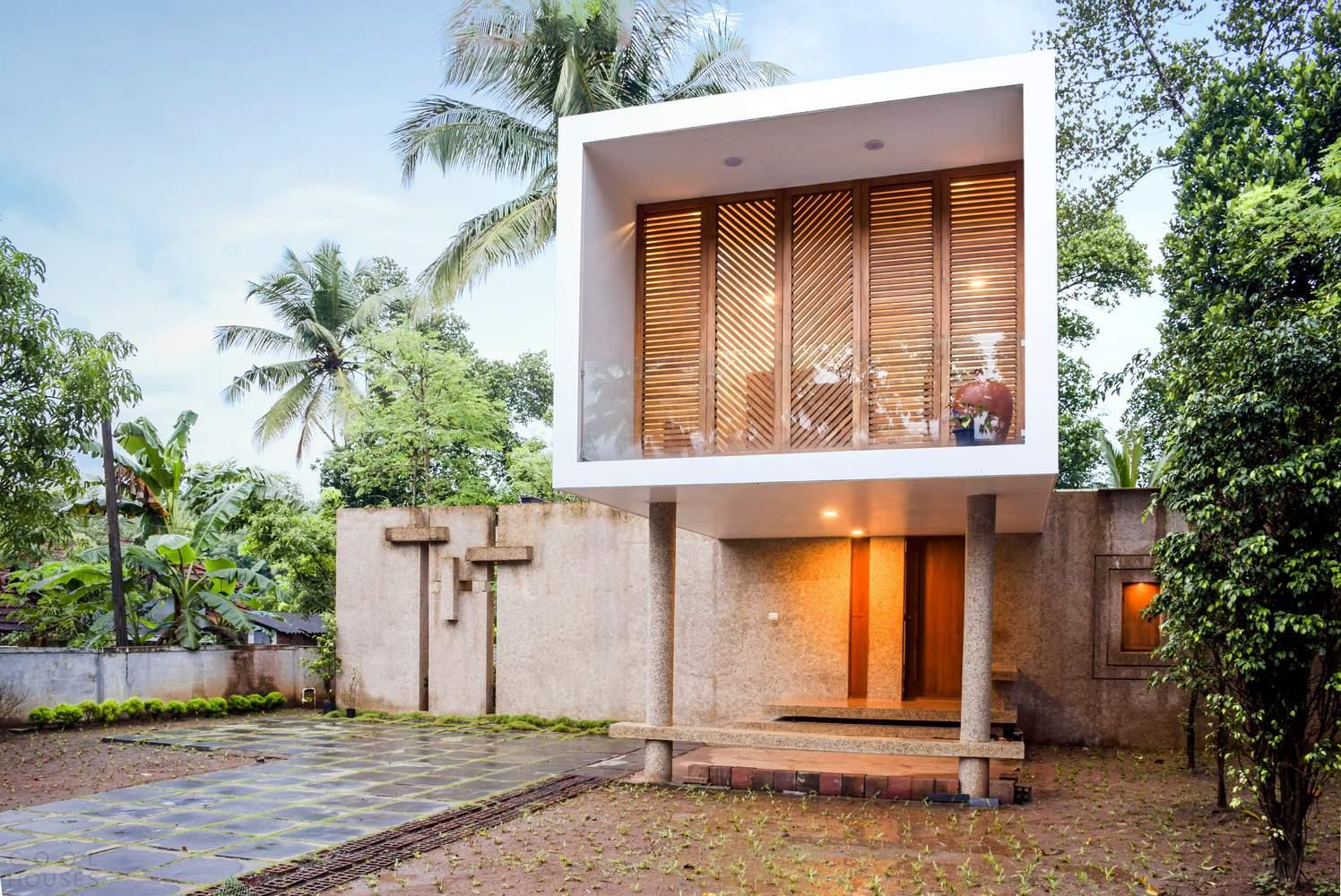 Стильная резиденция для большой семьи, Индия