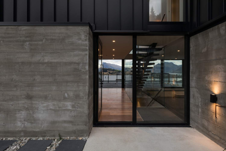 Стильный современный дом для отдыха на Южном острове Новой Зеландии