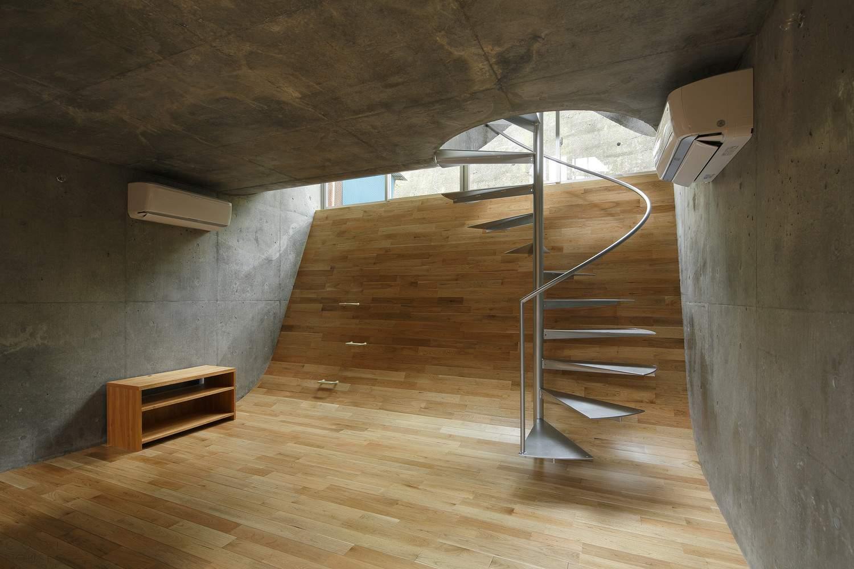 Уникальный интерактивный дом с неожиданными пространствами, Япония