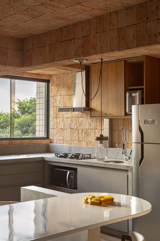 Маленькая квартира со стильным креативным интерьером
