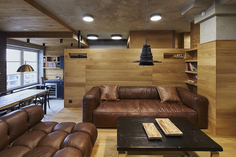 Апартаменты в стиле лофт в Москве