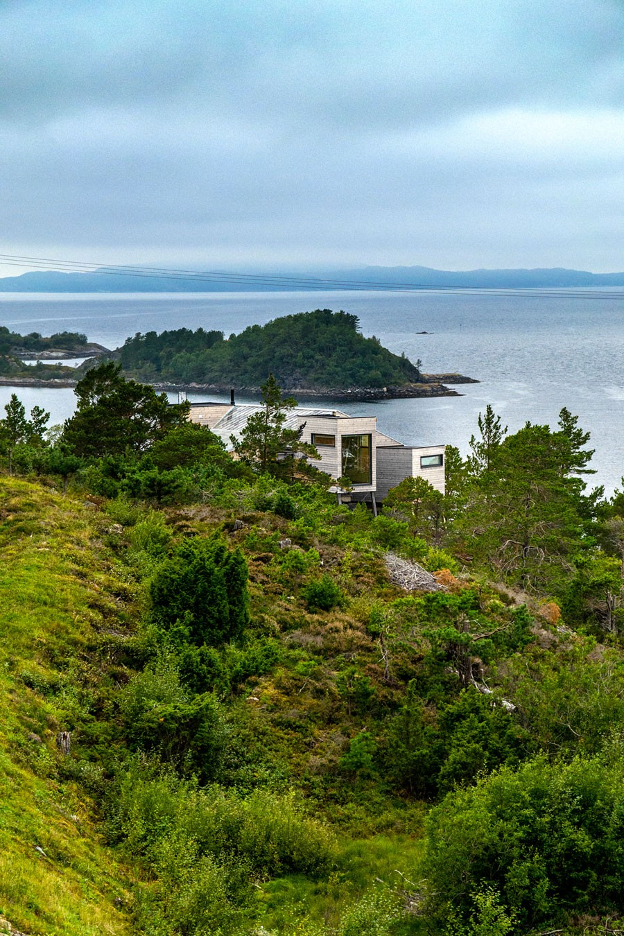Дом для отдыха на берегу моря, Норвегия