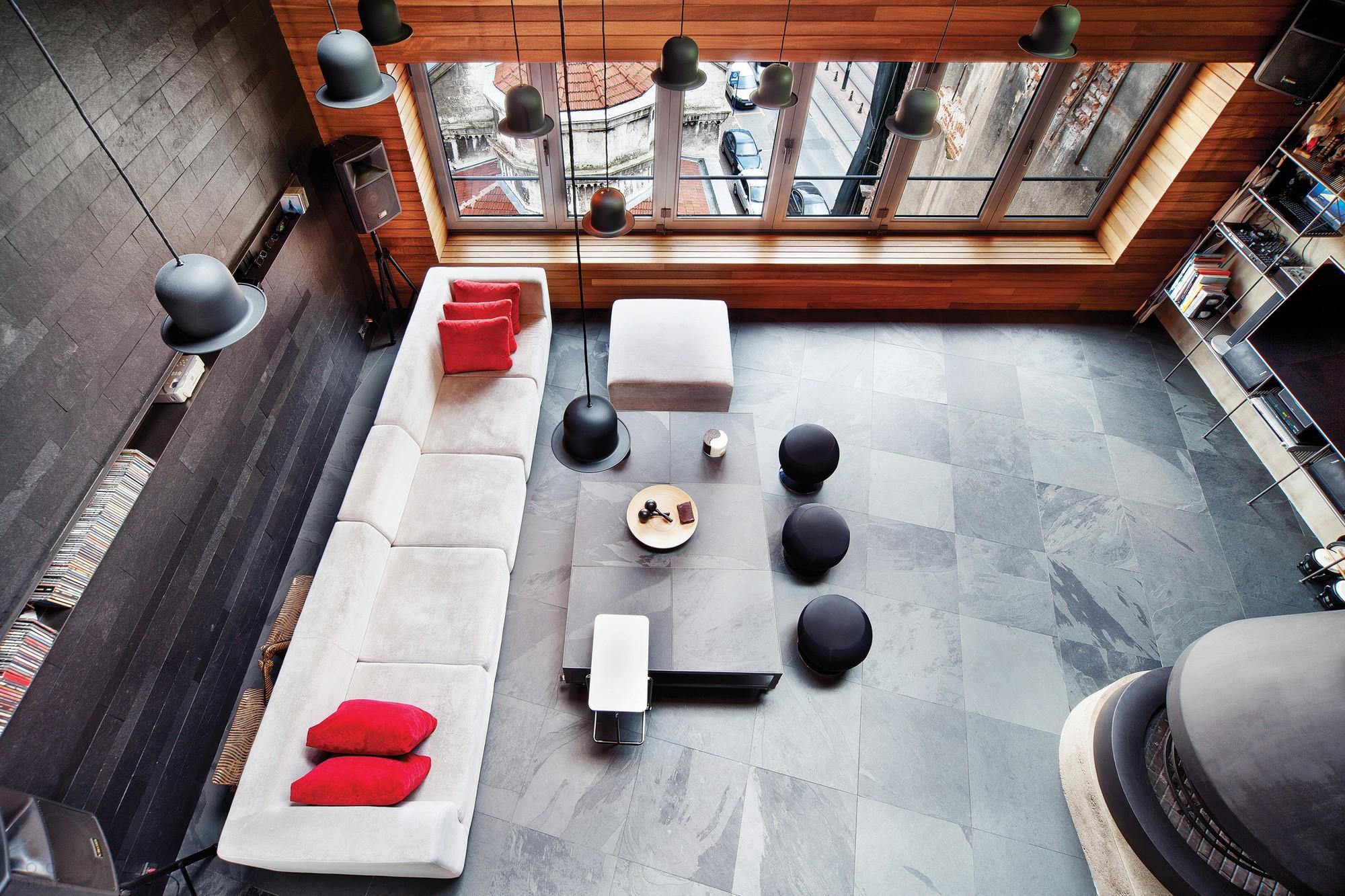 Лофт с оригинальным дизайном в центре Стамбула, Турция