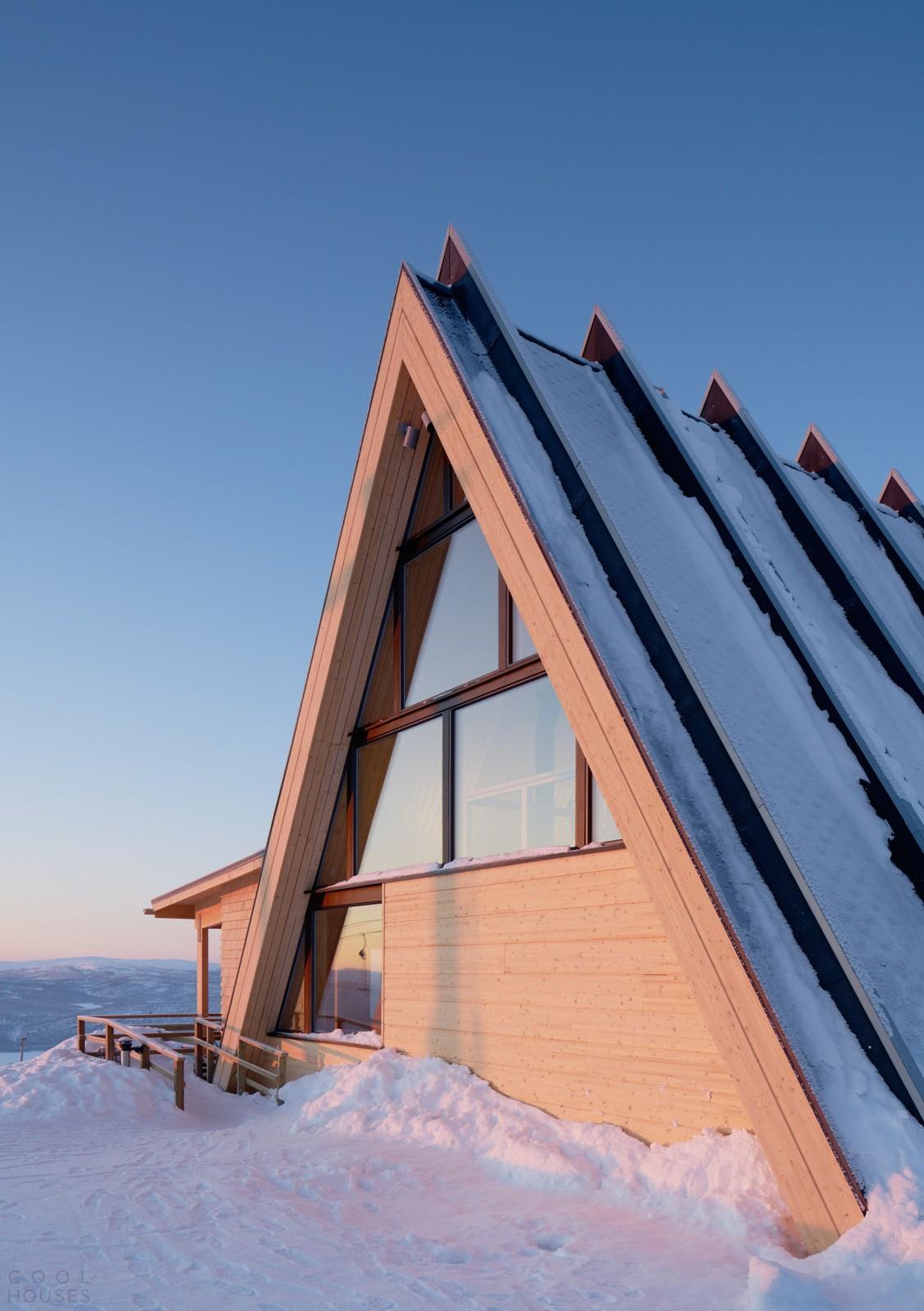 Необыкновенный ресторан в горнолыжном курорте Шведской Лапландии