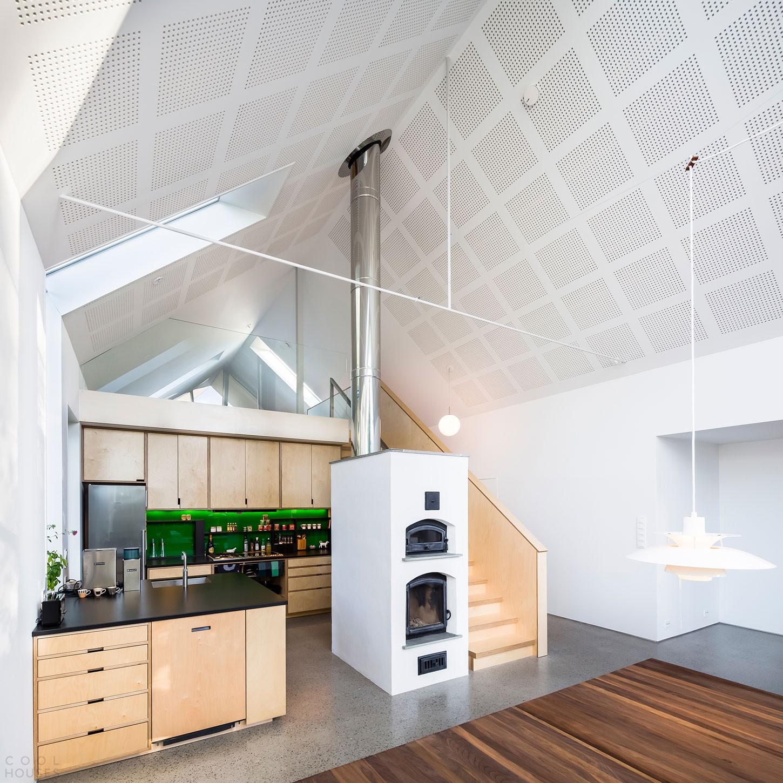 Новый дом в виде амбара, Норвегия