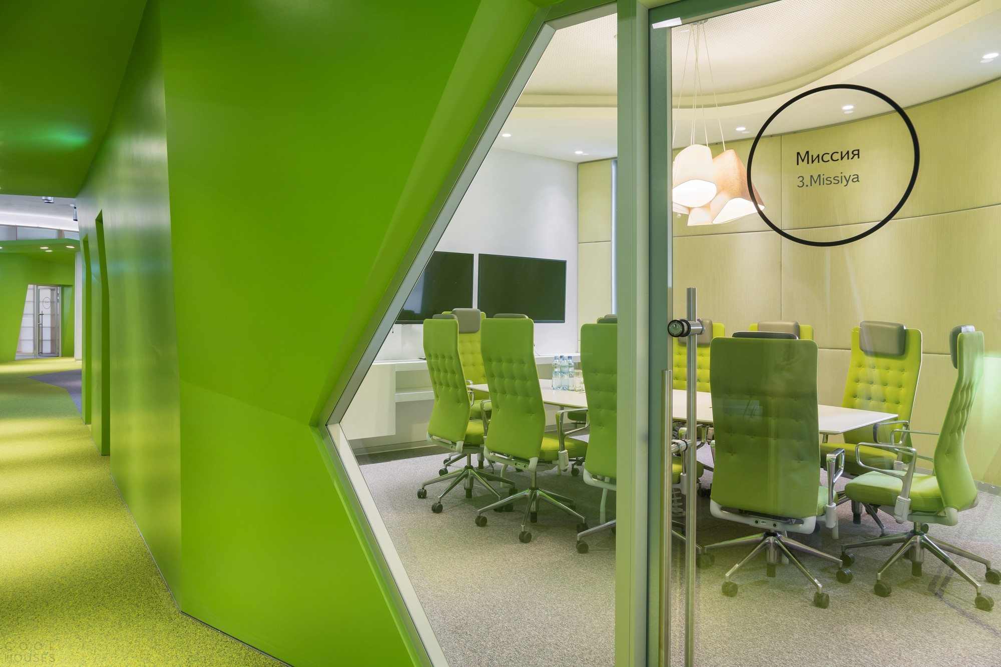 Офис компании Яндекс в Москве