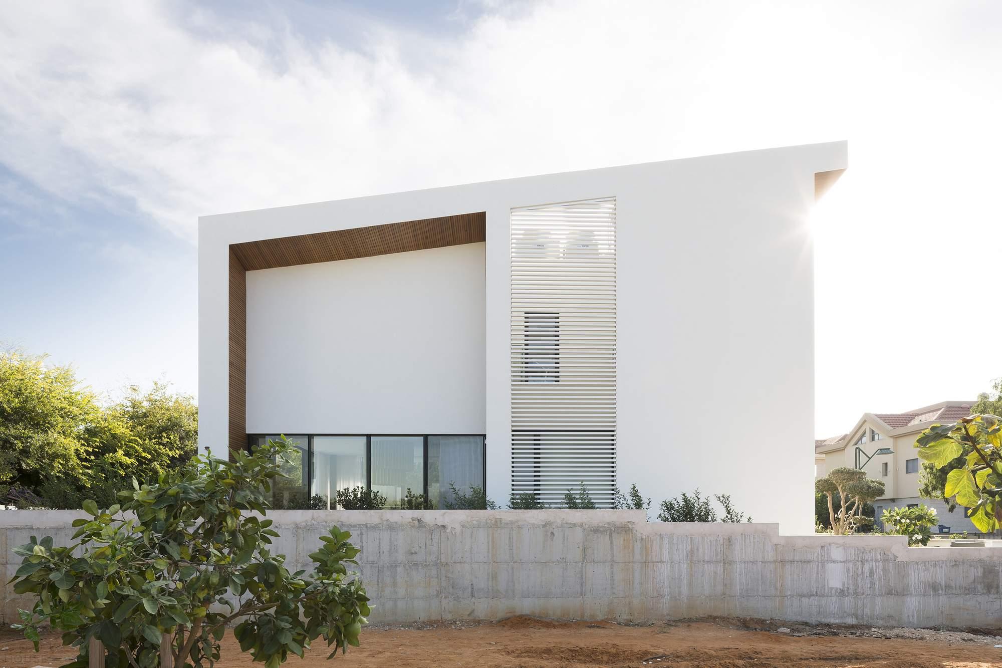 Частная вилла в стиле модерн в Израиле