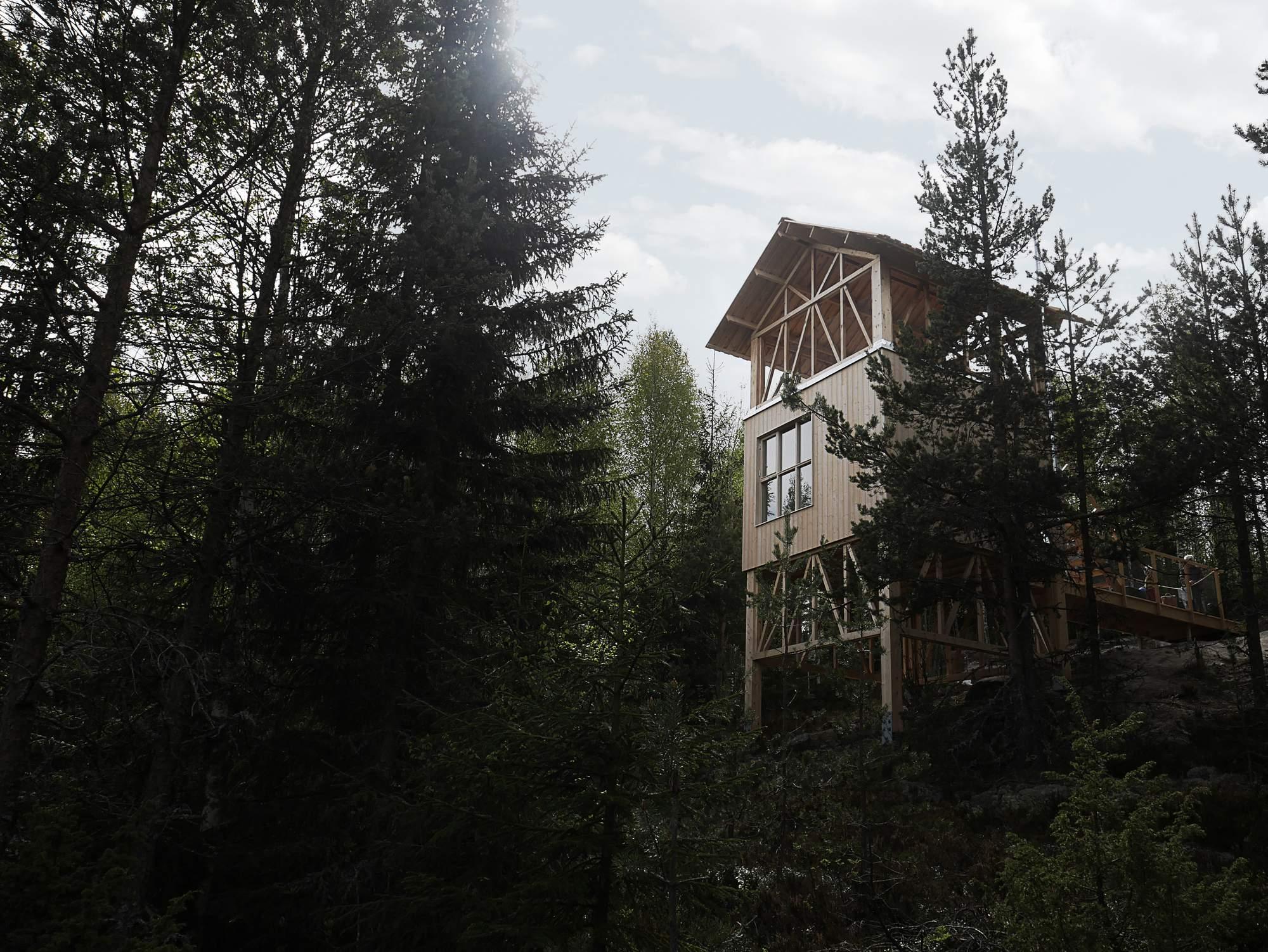 Ландшафтный отель в Швеции