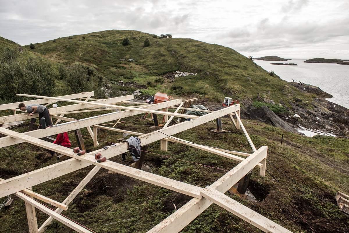 Уникальный комплекс для работы и отдыха на острове Флейнвэр, Норвегия
