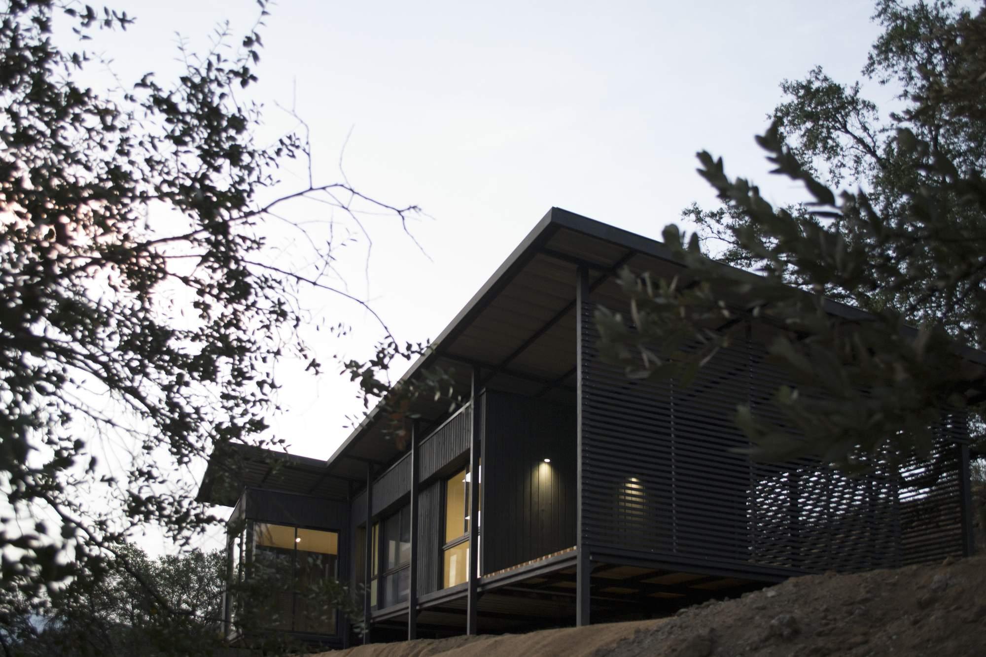 Загородный дом для отдыха в Чили