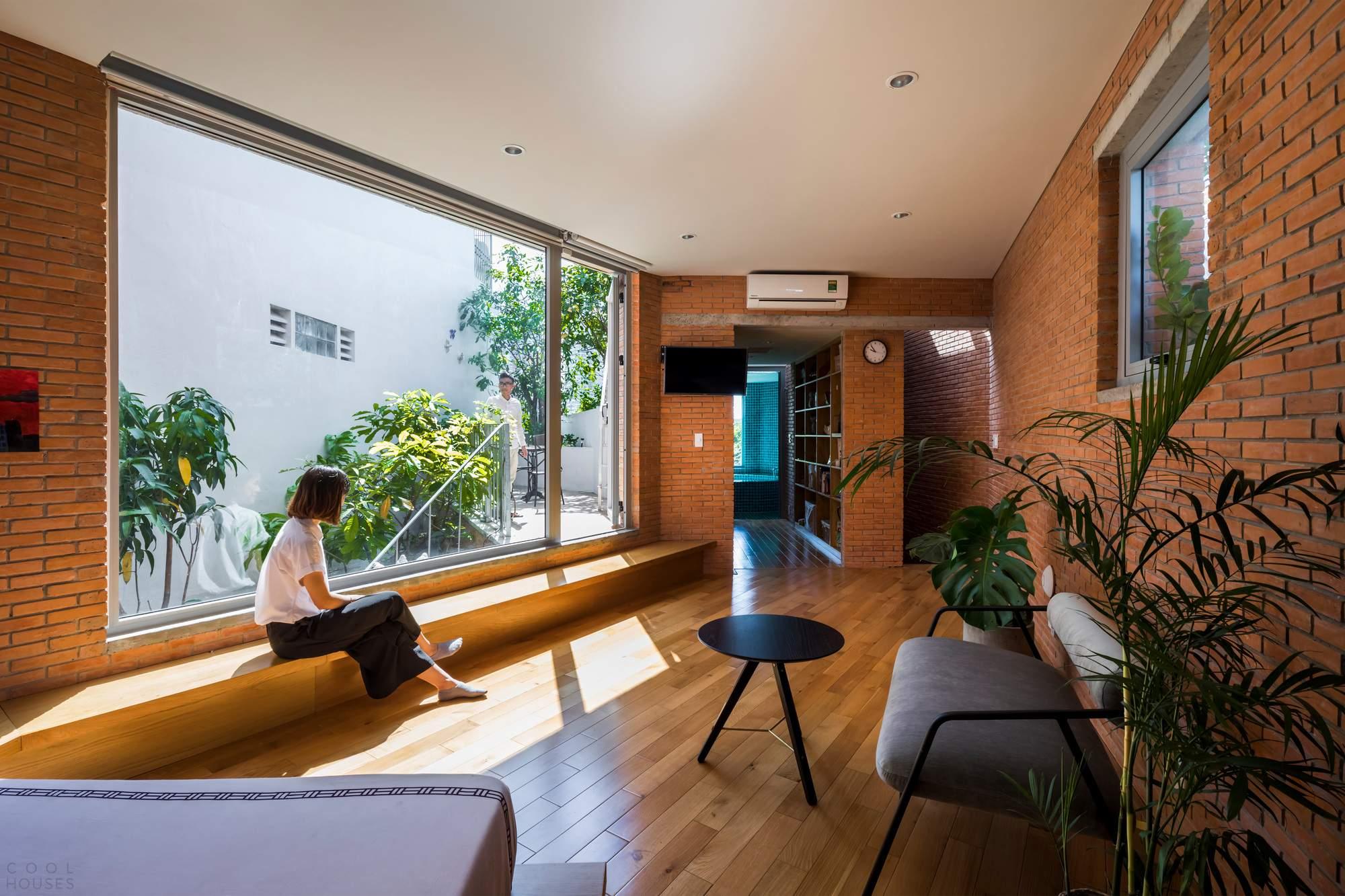 Семейный дом с террасами-садами, Вьетнам