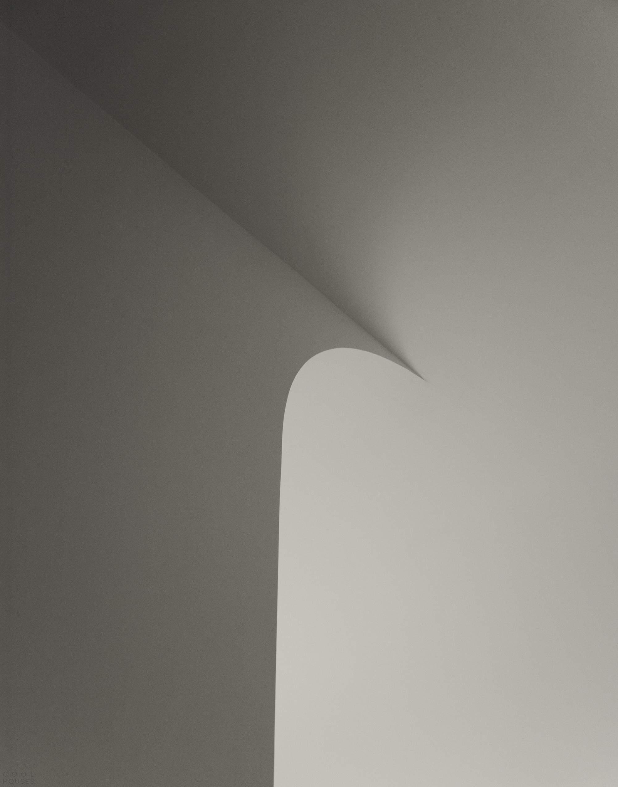 Стильный пентхаус с оригинальными изогнутыми потолками, США