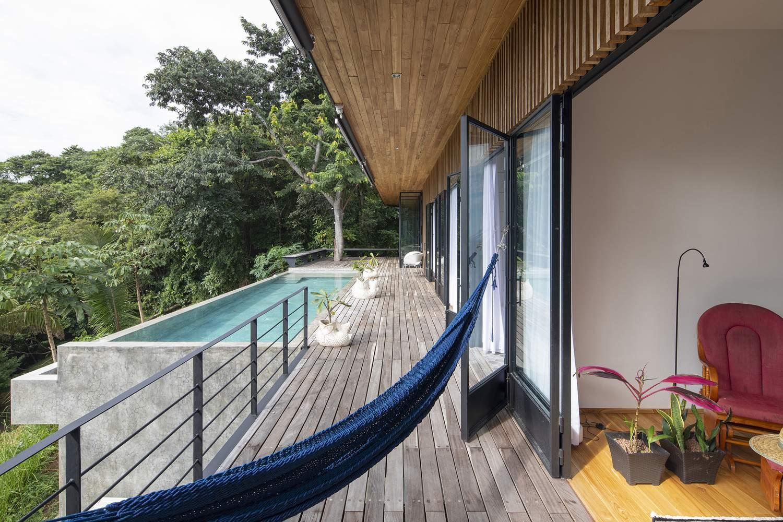 Эффектный семейный дом на тихоокеанском побережье Коста-Рики
